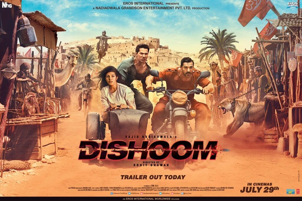 Dishoom 2016 Full Hindi Movies Download 720p HD Worldfree4u