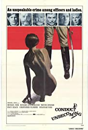 Conduct Unbecoming (1975) Poster - Movie Forum, Cast, Reviews