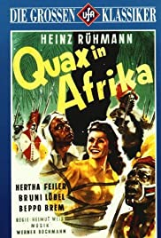 Quax in Afrika Poster
