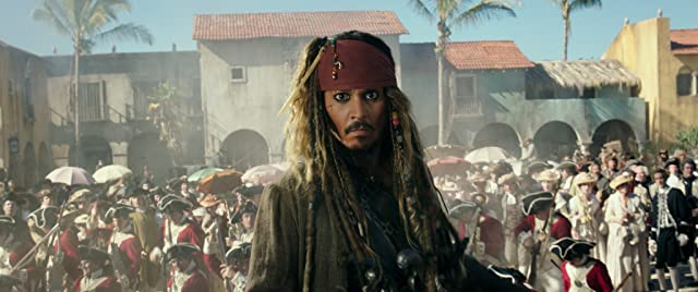 Johnny Depp in Pirates of the Caribbean: Dead Men Tell No Tales (2017)