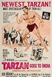 Tarzan Goes to India (1962) Poster - Movie Forum, Cast, Reviews