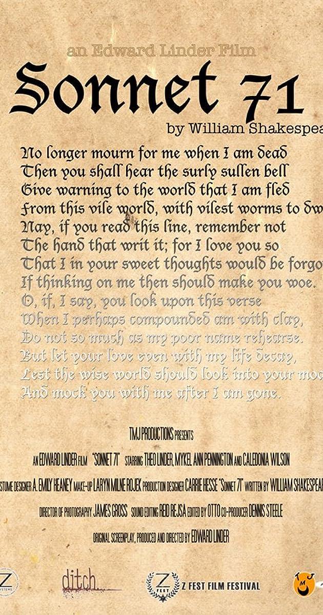Last sonnet summary