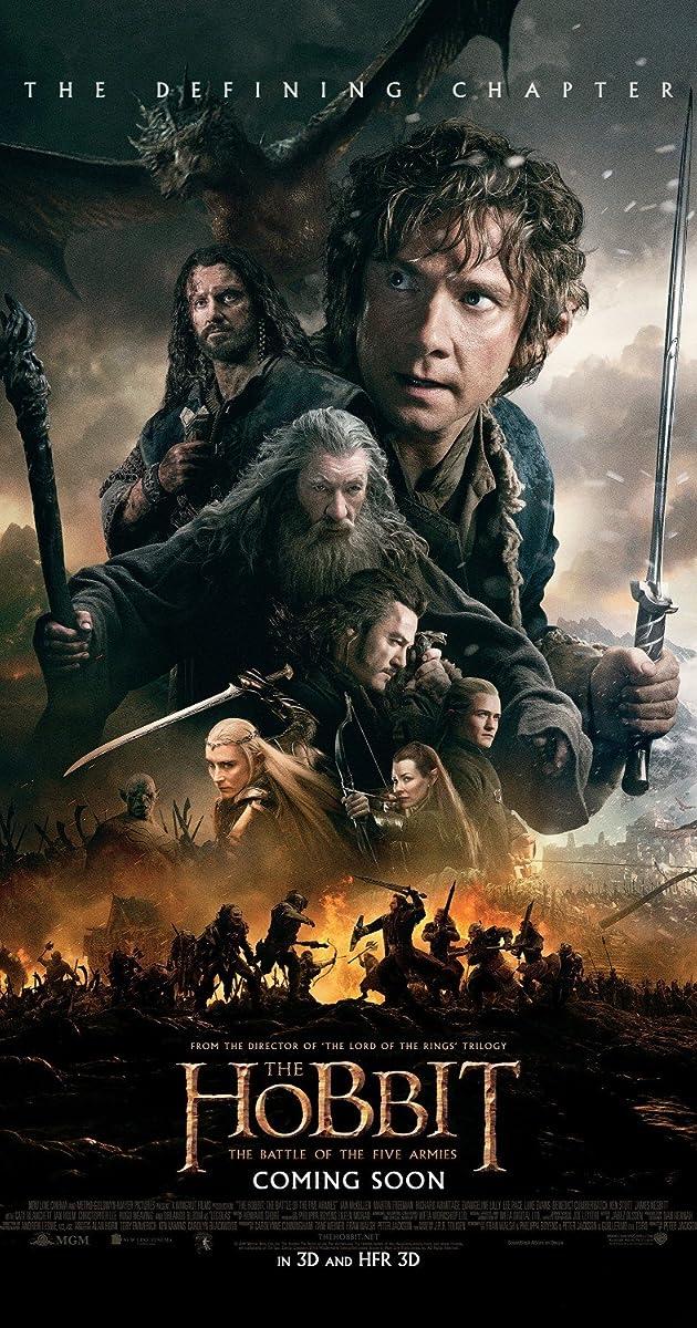 O Hobbit a Batalha Dos Cinco Exercitos Legendado