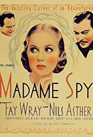Madame Spy Poster