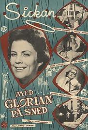 Med glorian på sned Poster
