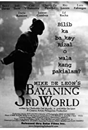 Bayaning 3rd World(2000) Poster - Movie Forum, Cast, Reviews