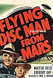 Flying Disc Man from Mars Poster