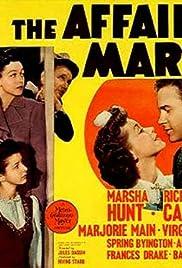 The Affairs of Martha(1942) Poster - Movie Forum, Cast, Reviews