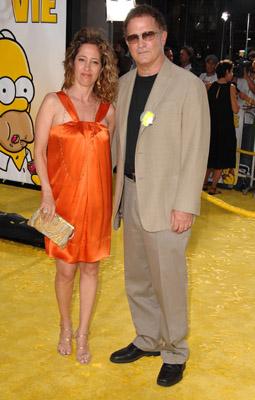 Albert Brooks at The Simpsons Movie (2007)