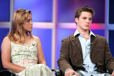 Caitlin Wachs and Matt Lanter at Commander in Chief (2005)