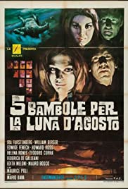 5 Dolls for an August Moon (1970) Poster - Movie Forum, Cast, Reviews