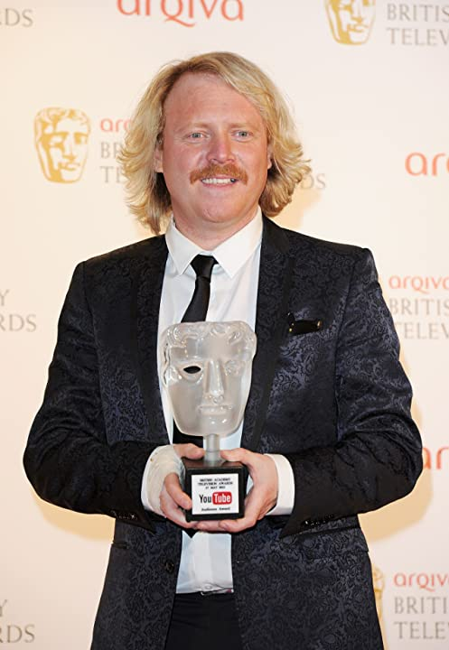 Leigh Francis at Celebrity Juice (2008)