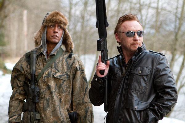 Danny Bonaduce and Andre Royo in Bigfoot (2012)