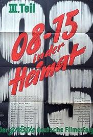 08/15 - In der Heimat(1955) Poster - Movie Forum, Cast, Reviews