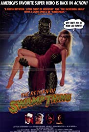 The Return of Swamp Thing (1989) Poster - Movie Forum, Cast, Reviews