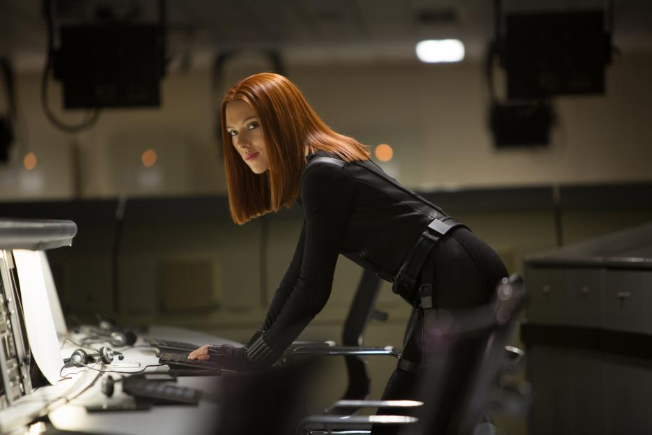 Scarlett Johansson in Captain America: The Winter Soldier (2014)
