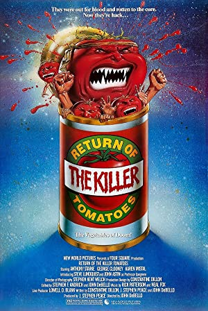 ver Return of the Killer Tomatoes