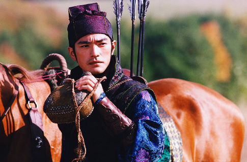 Takeshi Kaneshiro in House of Flying Daggers (2004)