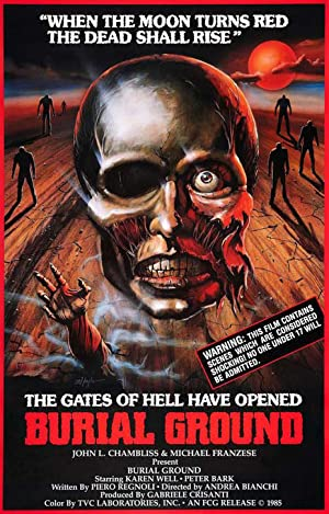 Burial Ground: The Nights of Terror poster