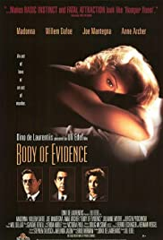 Body of Evidence (1993) Poster - Movie Forum, Cast, Reviews