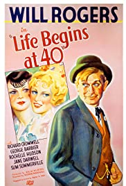Life Begins at 40 (1935) Poster - Movie Forum, Cast, Reviews