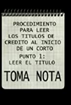 Primary image for Toma nota