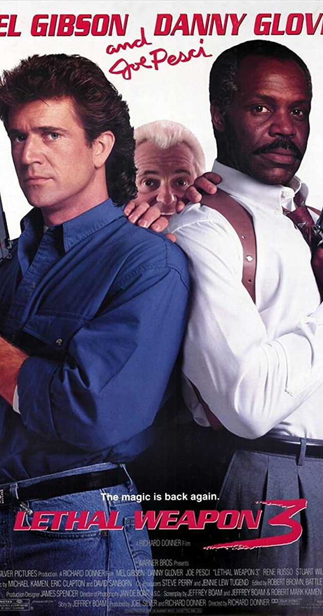 Mirtinas Ginklas 3 / Lethal Weapon 3 (1992) Online