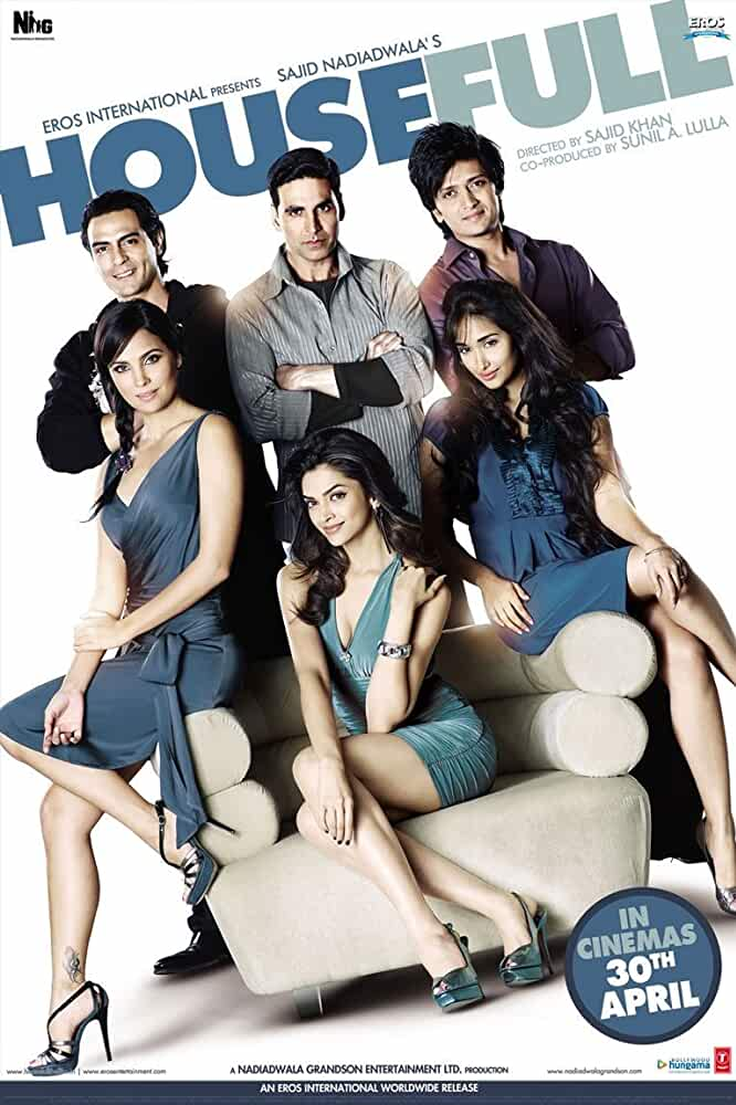 Housefull 2010 Hindi Full Movie 720p BluRay ESubs full movie watch online free download at movies365.lol