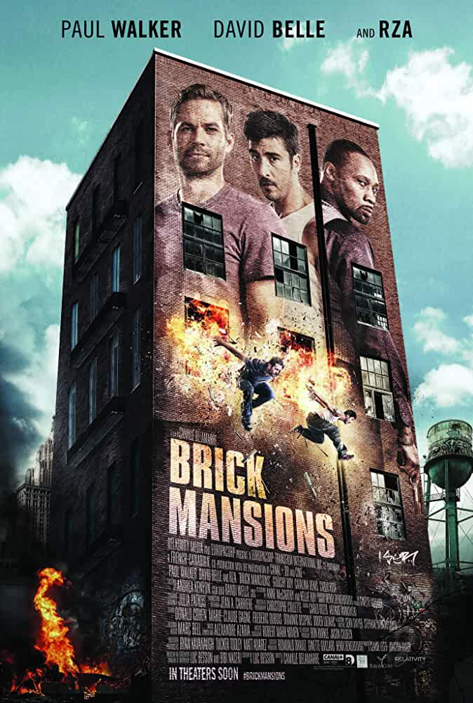 Brick Mansions 2014 Dual Audio 720p BRRip full movie watch online freee download at movies365.ws
