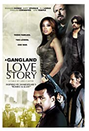 A Gang Land Love Story Poster