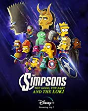 The Good, the Bart, and the Loki (2021) poster