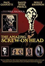 The Amazing Screw-On Head Poster