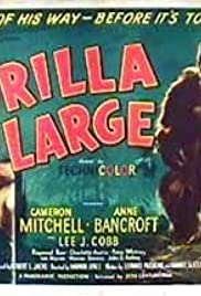 Gorilla at Large (1954) Poster - Movie Forum, Cast, Reviews