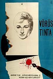 Vörös tinta Poster