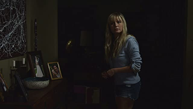 Kelly suddenly hears something. (Lindsey Haun)