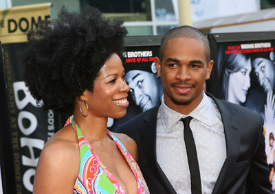 Damon Wayans Jr. and Kim Wayans at Dance Flick (2009)