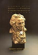 I premios Goya