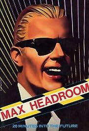 Max Headroom Poster - TV Show Forum, Cast, Reviews