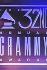 The 32nd Annual Grammy Awards Poster