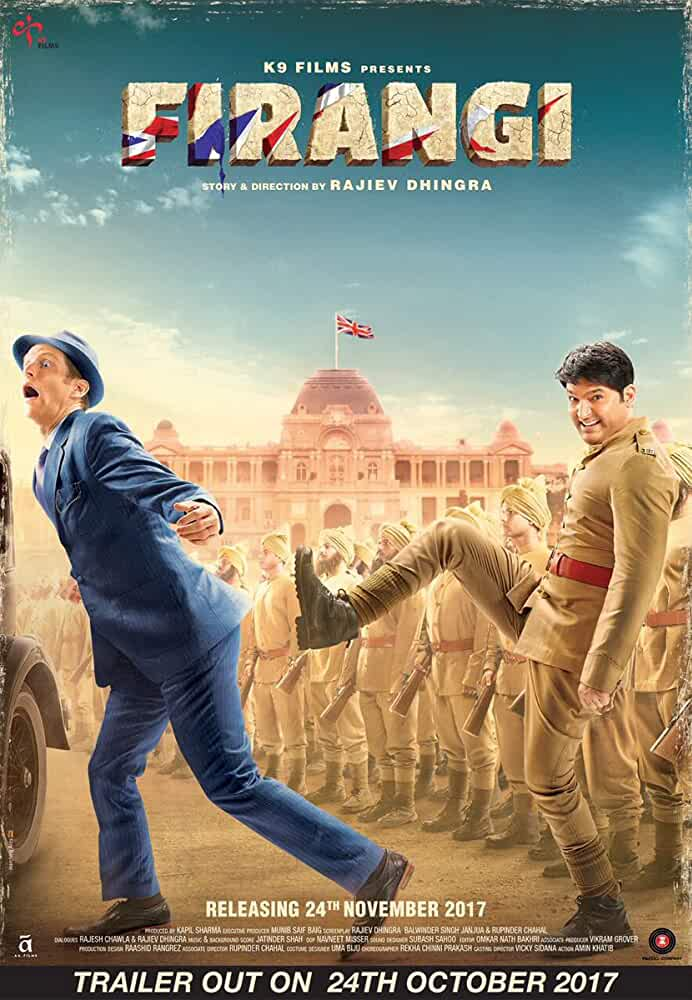 Poster Firangi 2017 300MB Movie Download Hindi HD Free
