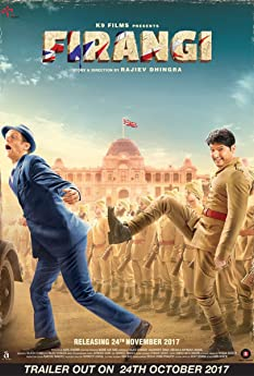 Edward Sonnenblick and Kapil Sharma in Firangi (2017)