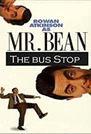 The Exciting Escapades of Mr. Bean: The Bus Stop Poster