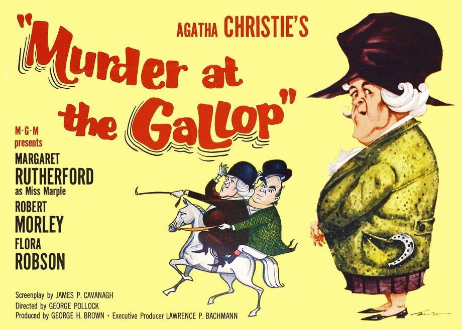 Image result for murder at the gallop