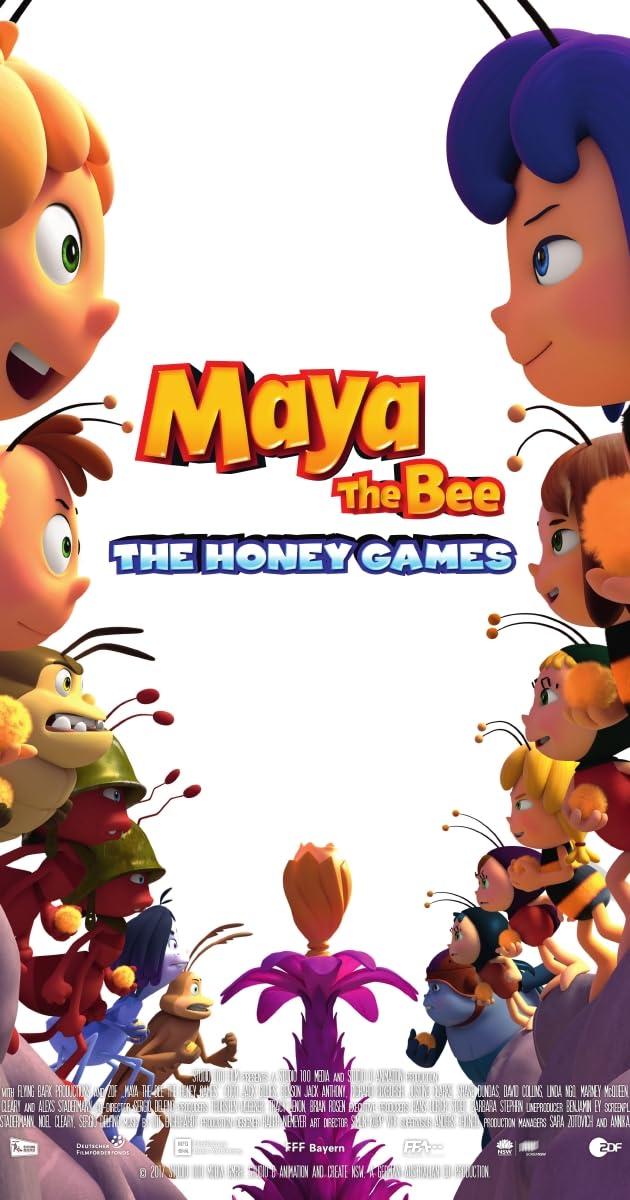 Bitė Maja: Medaus žaidynės / Maya the Bee: The Honey Games (2018) Online