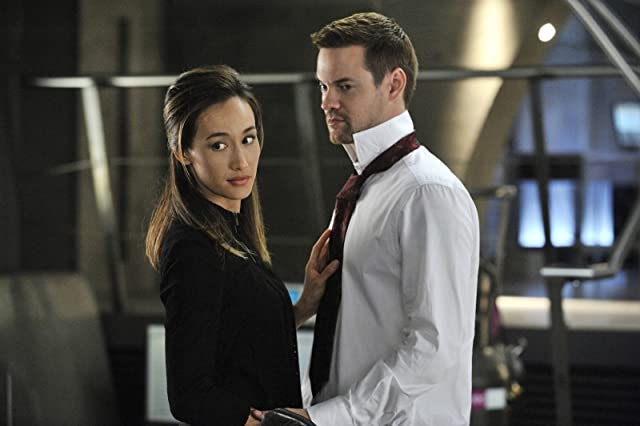 Maggie Q and Shane West in Nikita (2010)
