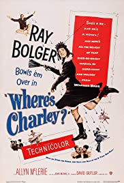 Where's Charley?(1952) Poster - Movie Forum, Cast, Reviews