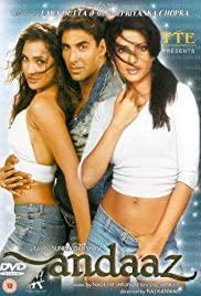 Andaaz (2003) Poster - Movie Forum, Cast, Reviews