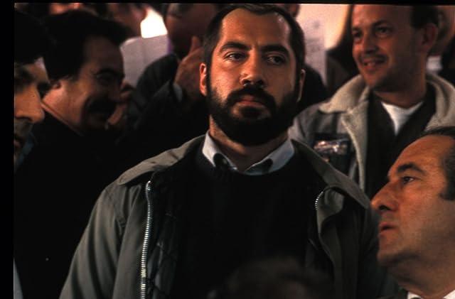 Javier Bardem and José Ángel Egido in Mondays in the Sun (2002)