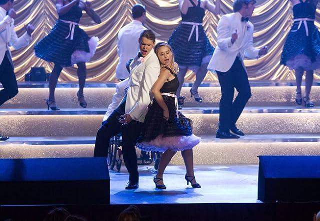 Chord Overstreet and Becca Tobin in Glee (2009)