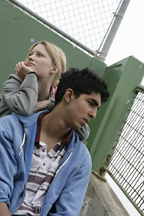 Dev Patel and Ashley Grace in About Cherry (2012)